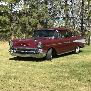 1957 Chevy Belair 2 Door Hardtop
