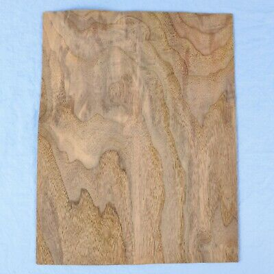 Walnut Burl - 2 Bookmatched Wood Veneer Sheets - 9.25 X 12 -no Backing