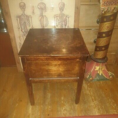 Antique Bedside Cabinet / Pot Cupboard