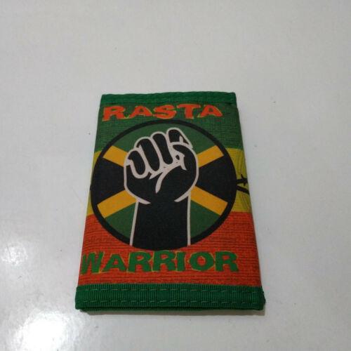 Vintage  RASTA WARRIOR   Unused 90s WALLET  reggae