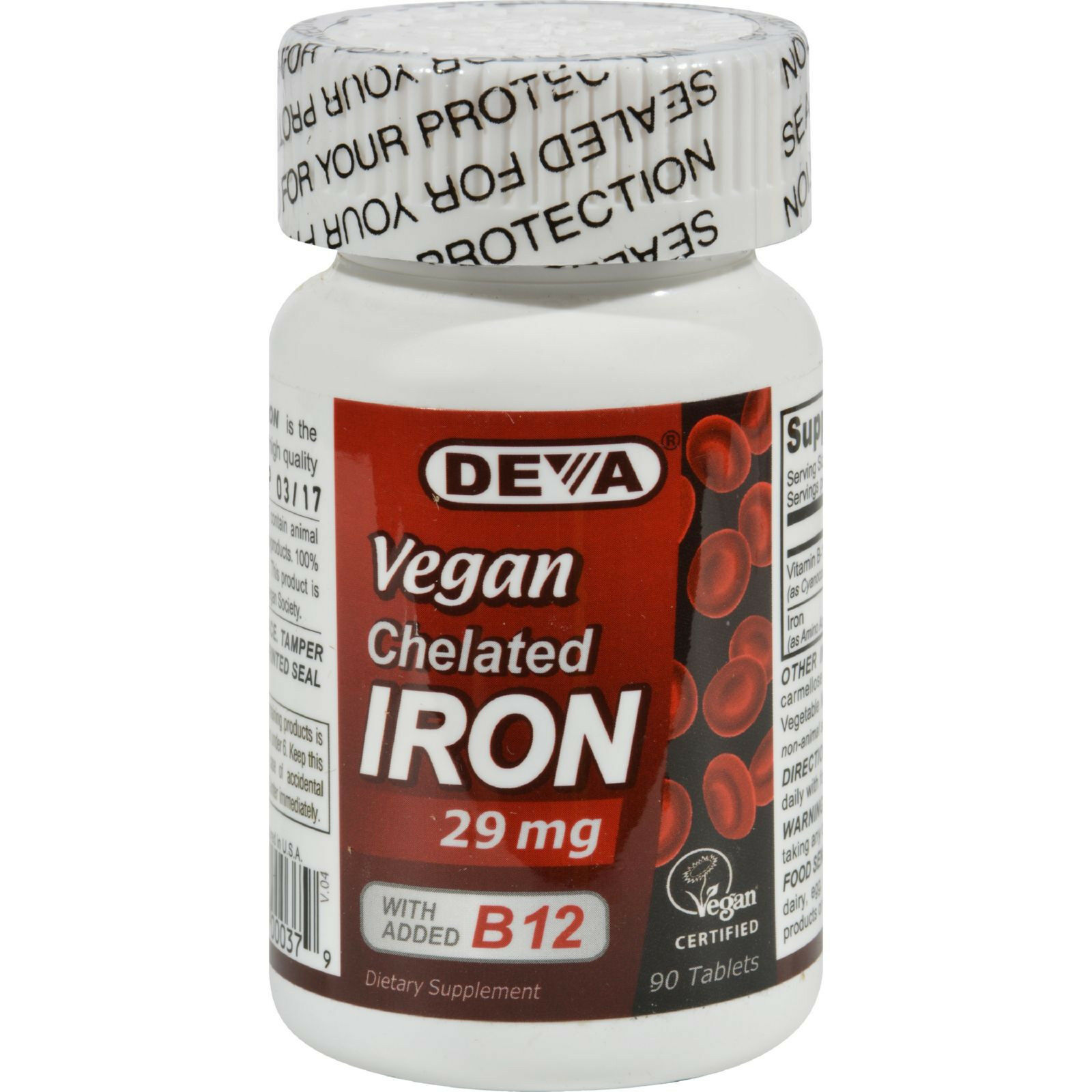 Iron Pills Anemia Tablets Red Blood Cell Supplement Oxygen D