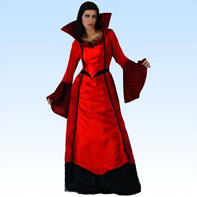 Edles Kleid Vamp Gr. M/L Vampirin Vampiress Vampirkostüm Vampkostüm Fasching