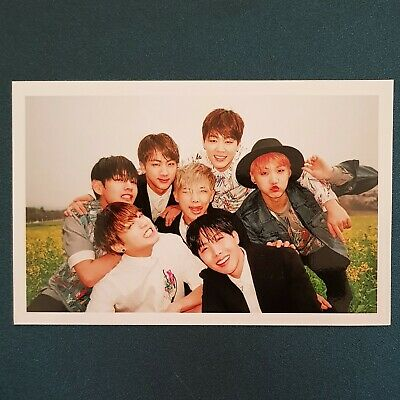 Group - Official Phtocard BTS photocard