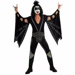 KISS DEMON DELUXE LICENSED ADULT COSTUME FOR HIRE Ashfield Bassendean Area Preview