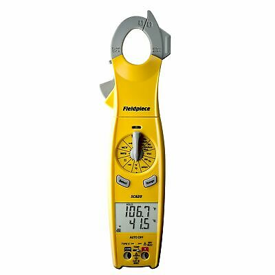 Fieldpiece Sc620 Clamp Meter With Swivel Head
