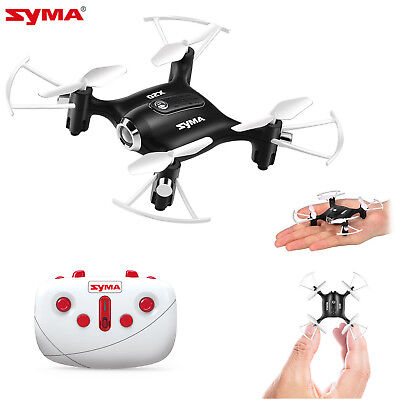Syma X20 Pocket RC Quadcopter Drone 2.4Ghz 4CH Headless Altitude Hold Mode Black
