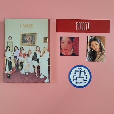 (G) I-DLE idle I Made (2nd Mini album signed autograph soyeon photocard