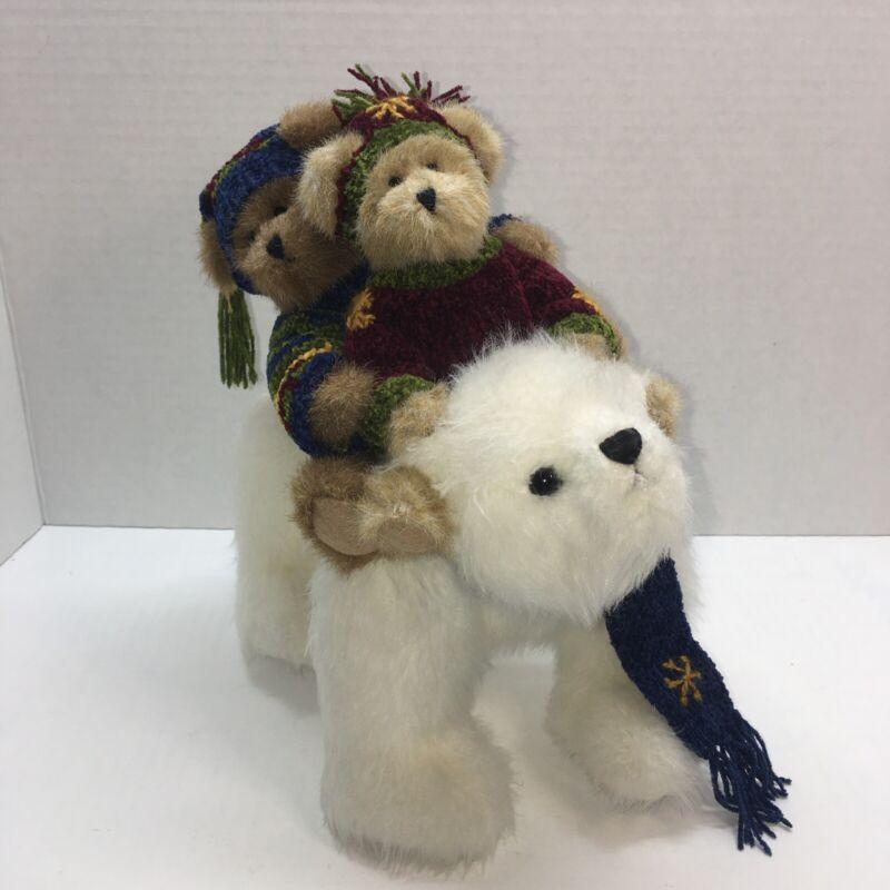 BOYDS BEAR NANOOK and FRIENDS Plush Limited Edition  Polar Bear Retired 2007
