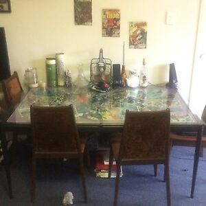 Marvel Comic Book Dining table Woolloongabba Brisbane South West Preview