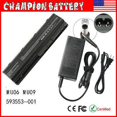 (Laptop Battery for 593553-001  HP 2000-425NR Notebook MU06 593555-001 6-Cell)