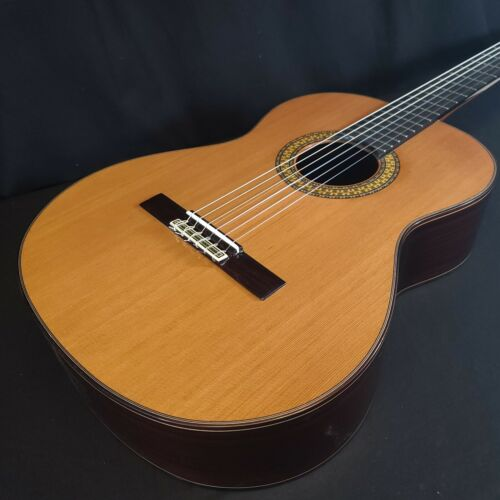 Alhambra 9 P US All Solid Classical Nylon String Guitar w/ Logo