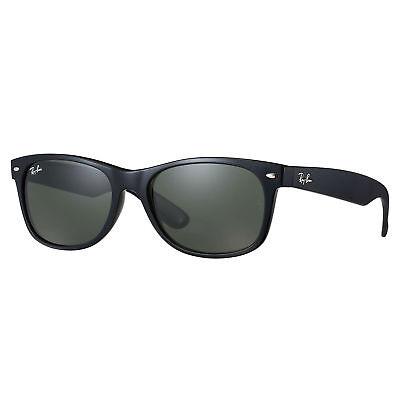 Ray-Ban RB2132 New Wayfarer Classic Sunglasses Black/ Green Classic (New Ray Ban Glasses)