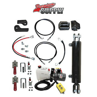 Hydraulic Tilt Deck Kit For Trailers - Welded 310w Premium Supply Hydraulic Kit