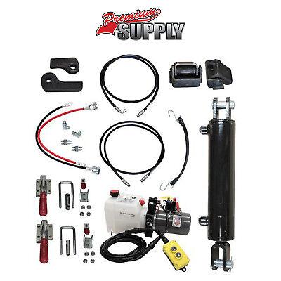 Hydraulic Tilt Deck Kit For Trailers - Welded 310w Premium Supply Hydraulic Kit