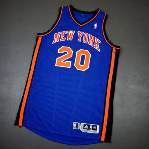 """100% Authentic Mike Bibby 2011 New York Knicks Game Issued Jersey Size 2xl+2"""""""