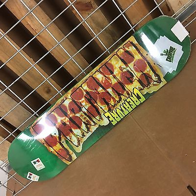 New Creature Partanen Pro Logo Green Skateboard Deck - 31.9in x 8.2in