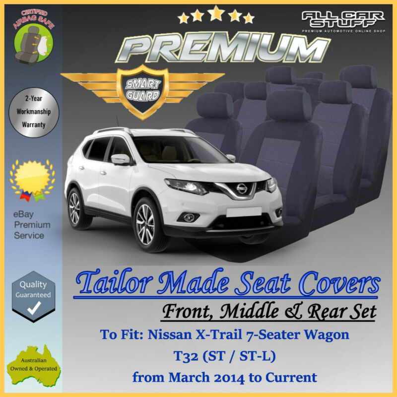 Interior Design Nissan X Trail: Premium Seat Covers For Nissan X-Trail (Xtrail) T32 7