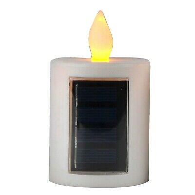 Solar Powered Flameless Led Candle Lantern Outdoor Garden with Realistic - Powered Candle Lantern