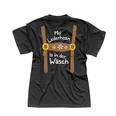 T-Shirt Oktoberfest Lederhose Kostüm Volksfest Tracht 13 Farben Herren - Herr Oktoberfest Kostüm