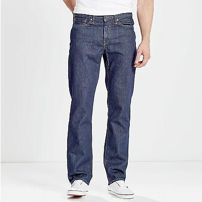 Levis 514 Jeans ONEWASH Denim Herren Hose dunkel blau dark stone Nachfolger 751 Wash Denim Hose