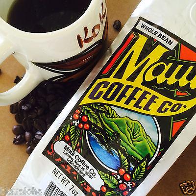 Maui Coffee Company 100  Hawaii Grown Coffee Whole Bean Or Ground Hawaiian 7 Oz