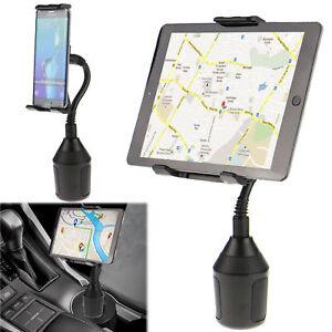 Adjustable Car Cup Holder Mount for Apple iPad Mini Samsung Galaxy 7