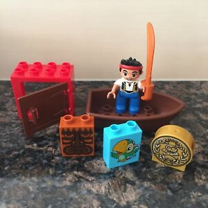 Lego Duplo Disney's Jake & The Neverland Pirates block set