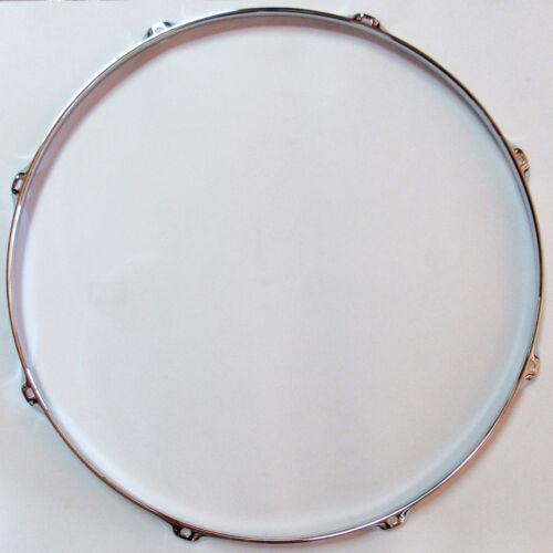 "2 PCS NEW 20"" Drum Hoops 8 Lug 2.3mm Chrome Triple Flange (2PCS/PACK)"