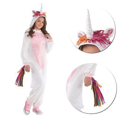 One Piece Unicorn Girls Costume Fancy Dress Comfortable Wear - Easy Costumes Girls
