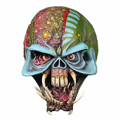Iron Maiden Final Frontier Eddie Costume Full Mask Space Latex Alien - Iron Maiden Eddie Costume Halloween
