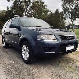 2009 Ford Territory Auto RWD Steel Blue SUV Suits Family Or First Car