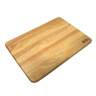 New Natural Rubber Wood Cutting Board Chopping Board Food Prep Kitchen Tools