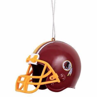 Washington Redskins Team Helmet (Washington Redskins Helmet Plastic Christmas Tree Holiday Ornament New Team)