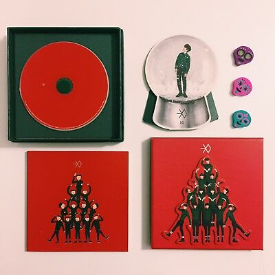 EXO Miracle in December Chinese Version Album Official D.O. Kyungsoo Snow Globe