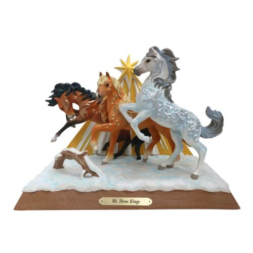 """Trail of The Painted Ponies """"We Three Kings Showpiece"""" Figurine  NEW 2020"""