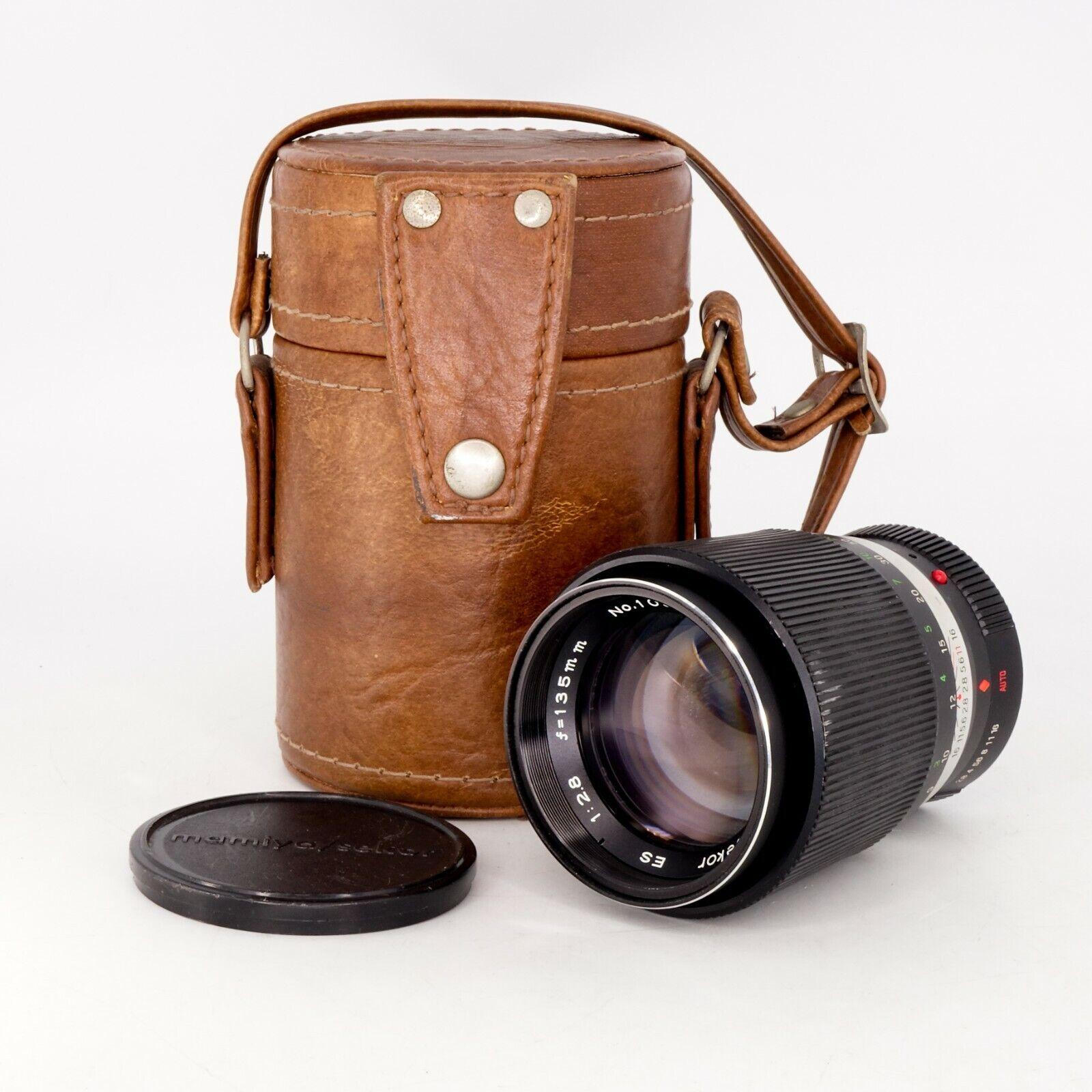 Mamiya Sekor C 645 Rear lens Cap for 80mm f2.8 645 Pro TL Genuine OEM