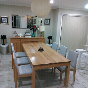 Moving Away Sale Freedom avenue dining set still new Bass Hill Bankstown Area Preview