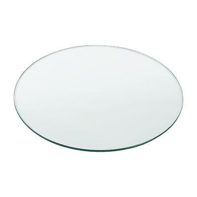[neu.haus] Glasplatte Ø70cm Rund Glasscheibe Tischplatte ESG Glas Kaminplatte