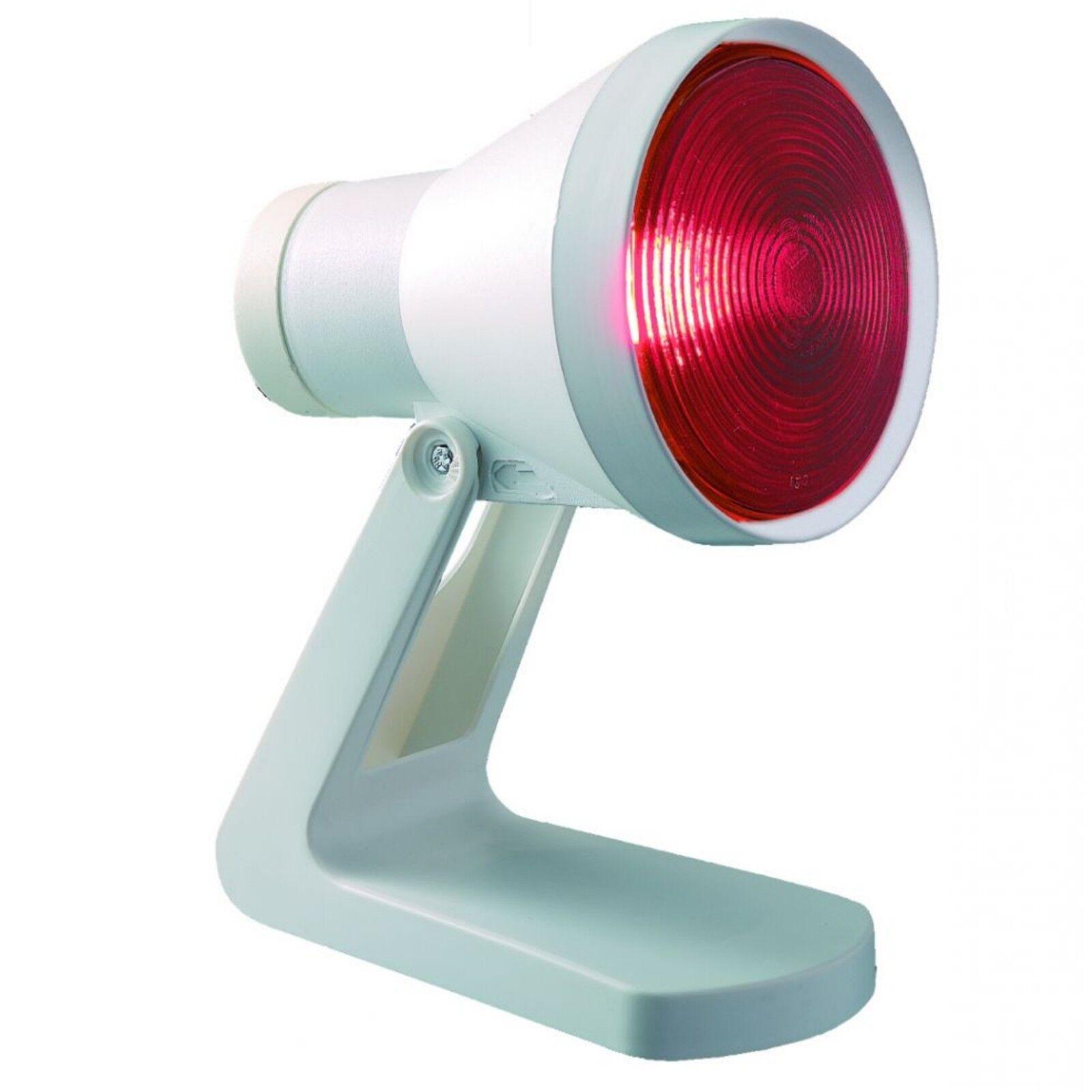 Rotlichtlampe Wärmelampe 150 Watt Rotlichtstrahler IR 812 N Efbe-Schott --- NEU