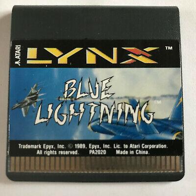 Blue Lightning / Cart / Atari Lynx Game / #1