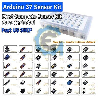Arduino Sensor Kit Temperature Motion Sound Shock Laser Tilt Led Photo Resistor
