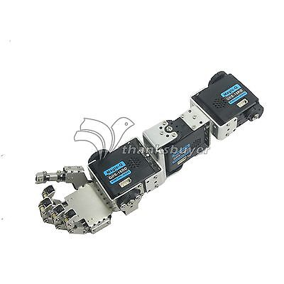 Humanoid Robot Right Hand Arm With Fingers Manipulator   Servo For Diy Robotics