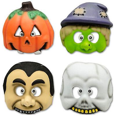 ween Party Pumpkin Vampire Witch Children's Face Mask (Happy Face Halloween)