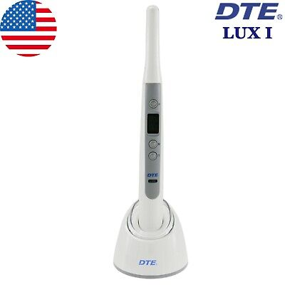 100 Woodpecker Dte Dental Led Curing Light Cure Lamp Wireless Lux I Original