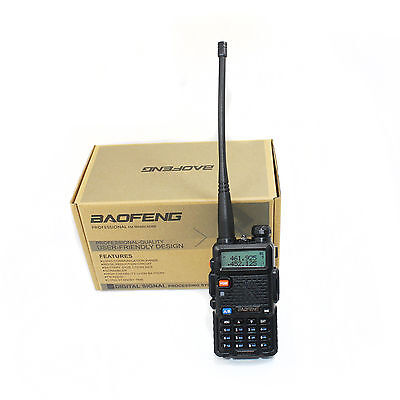 Baofeng UV-5R Dual-Band Two-way Radio VHF/UHF 136-174/400-520MHz FM Ham on Rummage