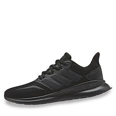 adidas RunFalcon Kinder Jungen Sneaker Sportschuhe Streetrunning Schuhe schwarz ()