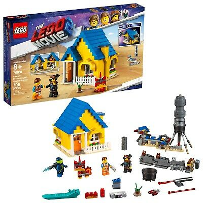 LEGO Movie 2: Emmet's Dream House and Rescue Rocket Complete Set (70831) ~ NEW