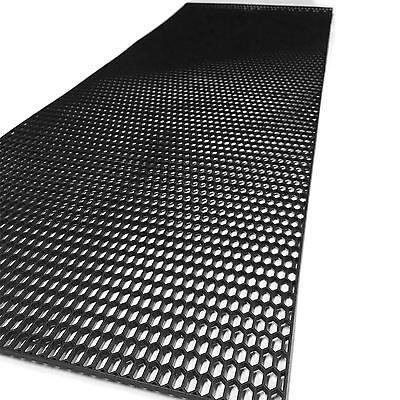 Honeycomb Black ABS Plastic vent car tuning universal Grill Mesh Size 40x100 cm