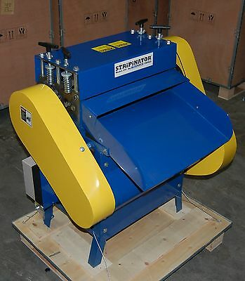 New Bluerock Tools Model 945 Wire Stripping Machine Copper Recycler Stripper