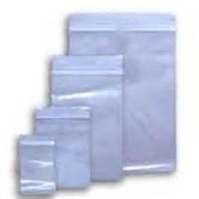 1000 Ziplock Zip Lock 3x5 Small Reclosable Clear Plastic Poly Bags 2 Mil 3x5